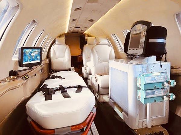 انتقال با آمبولانس هوایی - تجهیزات پزشکی اختصاصی و کامل تر از حالت سنتی