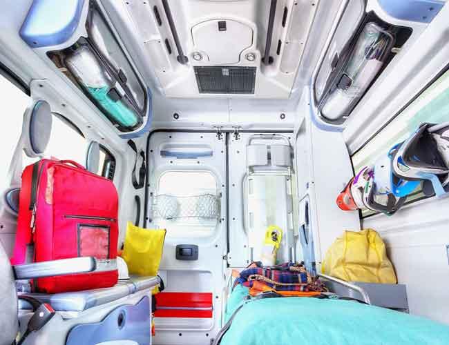 آشنایی با تجهیزات آمبولانس